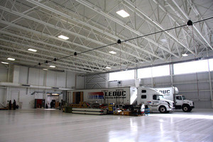Heated indoor storage is available in Leduc from Leduc Moving