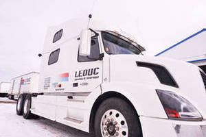 Leduc Moving Truck
