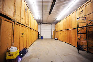 Clean and Organized Storage Facility