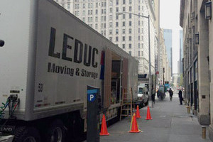 This Leduc Moving and Storage truck is part of a large fleet ready to move you wherever you need to be.