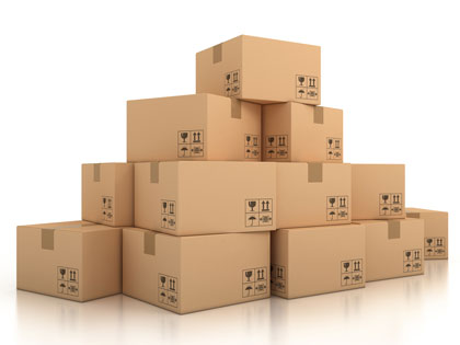Moving boxes and packing supplies from Leduc Moving & Storage